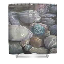 Blue Calm Shower Curtain