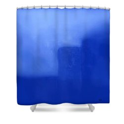 Blue Day - The Sound Of Silence  Shower Curtain