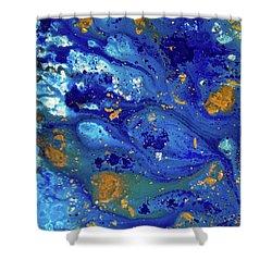 Blue Dream Shower Curtain by Sean Brushingham