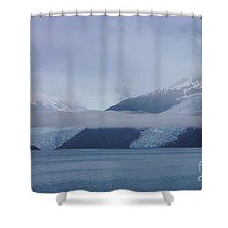 Blue Escape In Alaska Shower Curtain