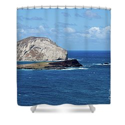 Blue Hawaii Shower Curtain