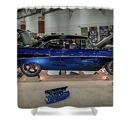 Shower Curtain featuring the photograph Blue Heaven by Randy Scherkenbach