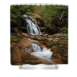 Blue Hole In Spring 2017 II Shower Curtain