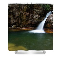 Blue Hole In Spring 2017 IIi Shower Curtain