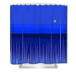 Blue Horizon Shower Curtain