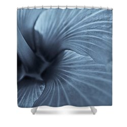 Shower Curtain featuring the photograph Blue Lagoon by Tom Vaughan