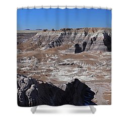 Blue Mesa Shower Curtain