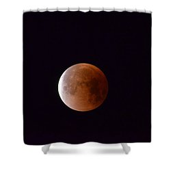 Blue Moon 1-31-18 Shower Curtain