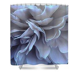 Shower Curtain featuring the photograph Blue Moon by Darlene Kwiatkowski