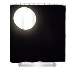 Shower Curtain featuring the photograph Blue Moon In July by Don Koester