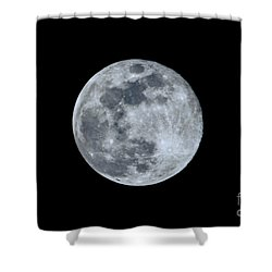 Blue Moonscape Photography 3644a Shower Curtain