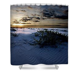 Blue Morning Shower Curtain