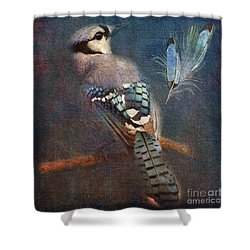 Blue On Blue 2015 Shower Curtain