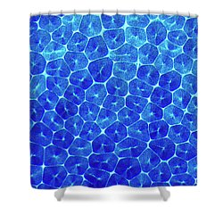 Cells Shower Curtain
