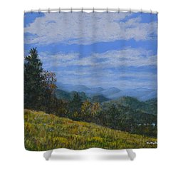 Blue Ridge Impression Shower Curtain