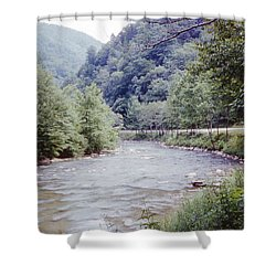Blue Ridge Mountains 8 Shower Curtain