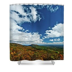 Blue Ridge Mountains In The Fall 2 Shower Curtain