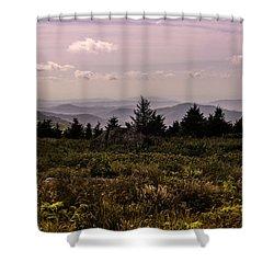 Blue Ridge Overlook Shower Curtain