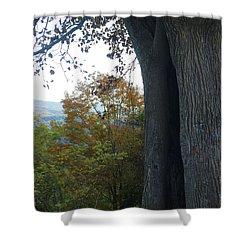 Blue Ridge Parkway Tree Shower Curtain