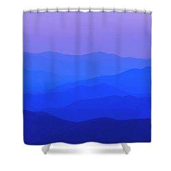 Blue Ridge Spring 08 Shower Curtain by Kevin Blackburn