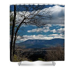Blue Ridge Thornton Gap Shower Curtain