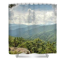 Blue Ridge View Shower Curtain