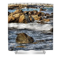 Blue Sea Shower Curtain