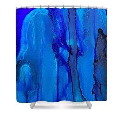 Blue Series  Shower Curtain