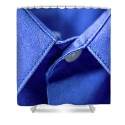 Blue Shirt Shower Curtain