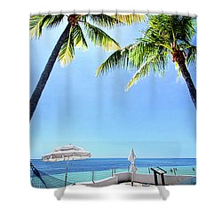 Shower Curtain featuring the photograph Blue Sky Breezes by Phil Koch