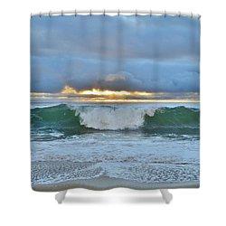 Blue Skys 2016 Shower Curtain