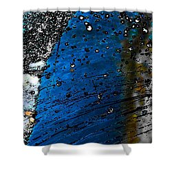 Blue Spectacular Shower Curtain