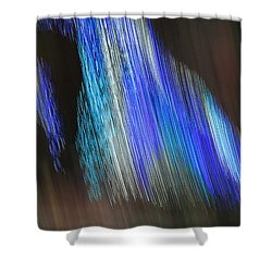 Blue Streak Shower Curtain