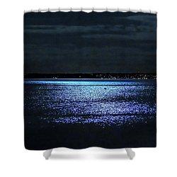 Shower Curtain featuring the photograph Blue Velvet by Glenn Feron