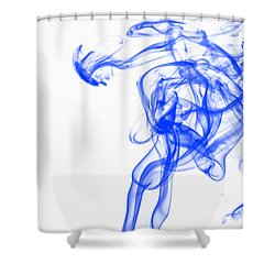 Blue1 Shower Curtain