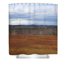 Blueberry Fields Forever Shower Curtain
