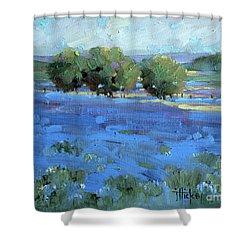 Bluebonnets Shower Curtain
