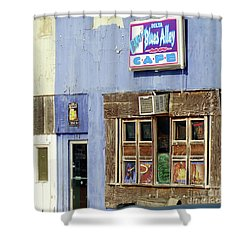 Blues Alley, Clarksdale Shower Curtain