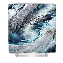 Shower Curtain featuring the photograph Blues by Kristin Elmquist