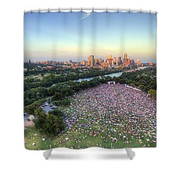 Blues On The Green With Bob Schneider Shower Curtain