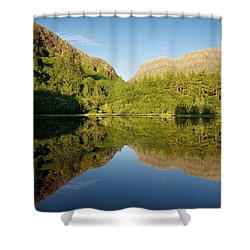 Blues Skies In Glencoe Shower Curtain