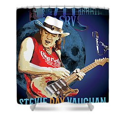 Bluesman Shower Curtain by Gary Grayson