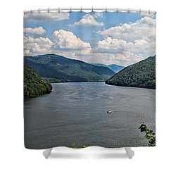 Bluestone Lake - Hinton West Virginia Shower Curtain
