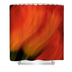 Blur De Lis Shower Curtain