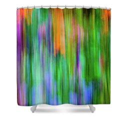 Blurred #1 Shower Curtain