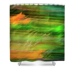 Blurred #11 Shower Curtain