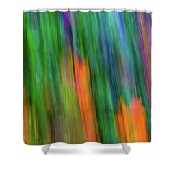 Blurred #2 Shower Curtain