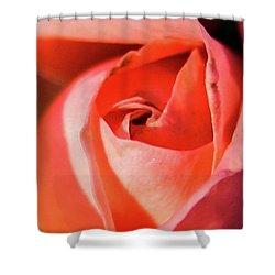 Blurred Rose Shower Curtain