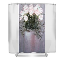 Blush - Original Artwork Shower Curtain
