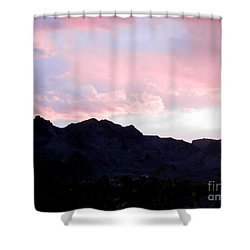 Blushed Moments Shower Curtain
